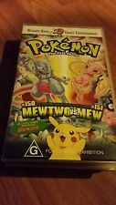 POKEMON THE FIRST MOVIE. -  VHS VIDEO TAPE