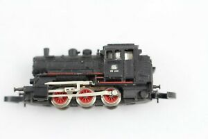 8800 Steam Locomotive Br 89 006 With Erhabenem Sign 1972 Märklin Mini-Club Z