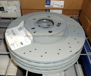 Mercedes-Benz OEM Front Brake Rotors Disks 2008 to 2014 C350 Sedan (Set of 2)