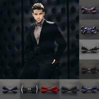 Fashion Adjustable Satin Men Tuxedo Classic Novelty Wedding Bow Tie Necktie 1PC