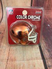 Riddell mini football helmet NFL Cleveland Browns Color Chrome