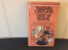 Barbara Cartland~Debt of Honor~Vintage Pyramid 1970 Series #16~Regency Romance