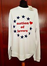 "New Zoe Karssen Sweatshirt ""Nation of Lovers"""