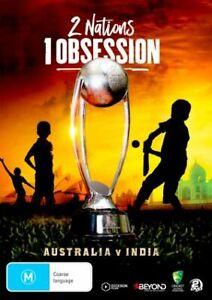 2 NATIONS 1 OBSESSION - AUSTRALIA V INDIA DVD, NEW & SEALED, FREE POST