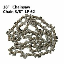 "New 18"" Chainsaw Saw Chain Blade 3/8"" LP .050 Gauge 62DL Replacement Saw Part"