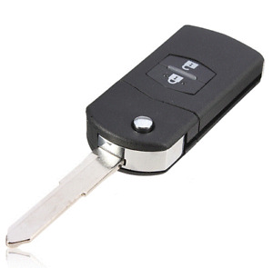 1 x Remote Flip Key Shell Suitable for Mazda 2 3 5 6 RX7 RX8 BT50 CX7 CX9 BT50