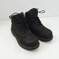 WORX Men's 5607 6-Inch Black Boots Steel Toe size 7M  ASTM F 2413-11