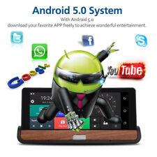"7"" 1080P HD Car DVR GPS Dual Lens Rearview Camera Dash Cam 3G+Wifi Bluetooth UK"