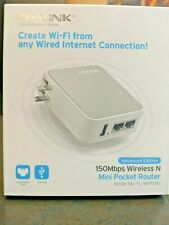 TP-Link TL-WR710N Mini Pocket Router - 150 Mbps Wireless N