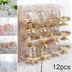 Candy Boxes Party Transparent Cupcake Holder Pasties Birthday Convenient
