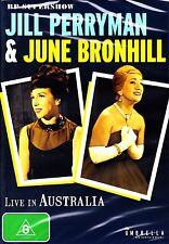 JILL PERRYMAN & JUNE BRONHILL * LIVE IN AUSTRALIA * BP SUPERSHOW* NEW SEALED DVD