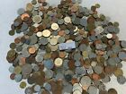 5 LB Of Mixed World Foreign Coin BONUS- Silver Foreign coin Included - Item #B40