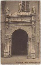 PIACENZA - PORTA PALAZZO TRIBUNALE 1914