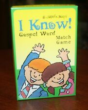 Val Chadwick Bagley's I Know! the Gospel Word Match Game - Mormon LDS FHE