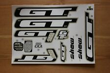 Reproduction 2000 GT Show BMX Decal Set - For Painted Frame