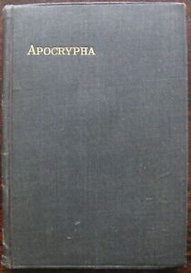 The Apocrypha according to The Authorised Version