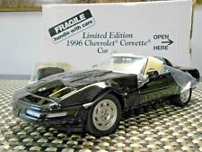 Danbury Mint 1:24 Limited Edition 1996 Corvette Coupe Black