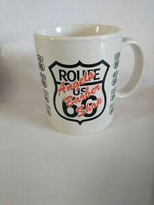 Route 66 Coffee Mug, Angels Barber Shop