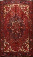 Vintage Geometric Traditional Area Rug Dining Room Hand-knotted Wool Carpet 9x12