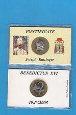Vatican 2 euro Prototype 2005  (Essai non officiel) Benoît XVI Joseph RATZINGER