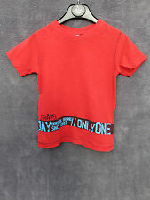 TEE SHIRT SERIGRAPHé ROUGE 3 ANS ♥ CAPTAIN TORTUE ♥ COMME NEUF +++ ☺