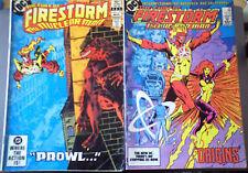 FIRESTORM 10 22 MAR 1983 APR 1984 2 DC COMICS GD VG+ COMBINE/SAVE  P&P