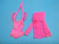 BARBIE FASHION-Original Bodysuit & Jacket  for Beauty Secrets Barbie-1979