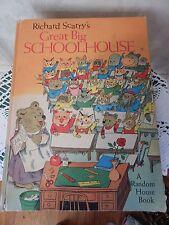69 Richard Scarry Great Big Schoolhouse 1st edition Childrens book Random House