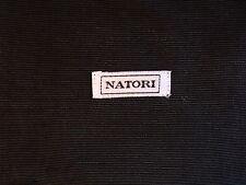 Vintage Natori Black Slipper Bag Sack