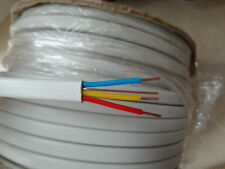 PIRELLI 1.5mm 3Core+Earth Cable Old Wiring Colours Red Yellow Blue 6243Y White
