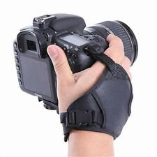 Useful Leather DSLR Camera Hand Grip Wrist Strap for Canon Nikon Sony Pentax JJ