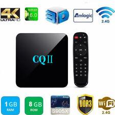 CQII (8 GB, Amlogic S905X Quad Core, 1 GB) Android 6.0 4K WiFi TV Box - Black