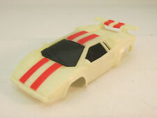 TYCO NITEGLOW W/ RED STRIPES LAMBORGHINI SHELL ~  EXCELLENT CONDITION!