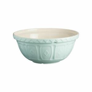 Mason Cash Powder Blue Ceramic Chip Resistant 26cm Mixing/Whisking Cake Mix Bowl