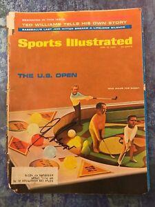 GFA Golf PGA Legend GARY PLAYER Signed Sport Illustrated Magazine AD3 COA
