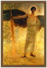 Franz von Stuck 08 Der Wächter des Paradieses Leinwand 60x84 GOLDMEDAILLE ENGEL
