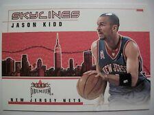 2002-03 FLEER PREMIUM SKYLINES JASON KIDD , NETS !! BOX # 46