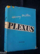Henry Miller E/O 100ex sur vélin Plexus Correa 1952