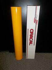 """Oracal 651 1 Roll 24""""x10yd(30ft) Gloss Golden Yellow  020 Sign Vinyl"""