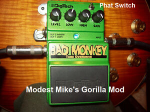 "DigiTech Bad Monkey with Modest Mike's ""Gorilla Mod"""