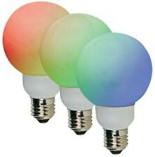 BOMBILLA LAMPARA 20 LEDS RGB 8 ROJO 6 VERDE 6 AZUL 1W E27 60MM 1 UNIDAD BD3575