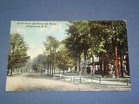 VINTAGE 1911 FRONT ST RIVERSIDE DR BINGHAMTON   NEW YORK   POSTCARD