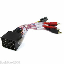 PC9-405 BMW 3 SERIES 2002 - 2005 RCA TO ISO HARNESS ADAPTOR STEREO LEAD