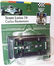 Team Lotus 79 Carlos Reutemann 1979 1-43 Scale New in Carded Blister
