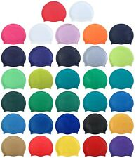 BLUE REEF Silicone Plain Junior Senior 8+ Years Swimming Swim Hat Cap New 2020
