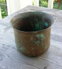 Antique Handwrought Arts and Crafts Copper Planter