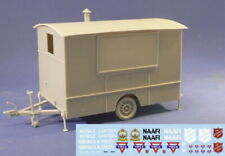 Resicast 1/35 WWII NAFFI/YMCA Caravan Full kit with Decals