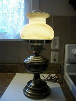 Vintage Electric Metal Hurricane Light Works