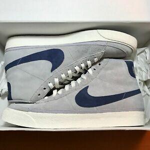 RARE Nike Blazer Mid SB 6.0 Sz 12 DS Wolf Grey Dark Slate  473674-040