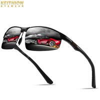 KEITHION Aluminium HD Polarized Sunglasses Mens Driving Fishing Sports Eyewear